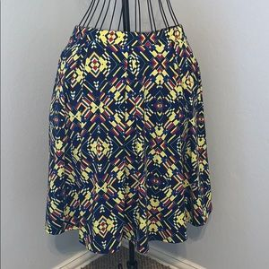LuLaRoe Madison Pleated Skirt with Pockets